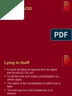 Lying powerpoint presentation