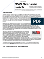 EPAS Cut-Out Switch