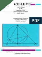 144 Problems of the Austrian-Polish Mathematics Competition%2C 1978-1993