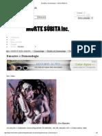 Emoções e Demonologia — Morte Súbita inc