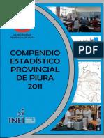 Compendio Estadístico Provincial de Piura 2011