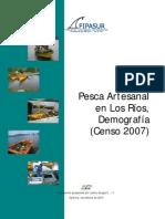 Demografía Pesca 2007 Los Ríos