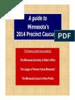 A Guide to Minnesota Precinct Caucuses