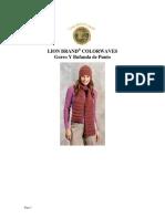 Crochet - Ganchillo - Gorro y Bufanda de Punto