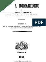 Treboniu Laurian Istoria Rominilor II