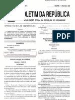 Decreto Que Regulamenta o Licenciamento Da Actividade Comercial