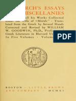 Plutarch 1 - Goodwin (1911)