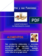 Los Alimentos y Sus Funciones