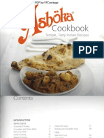 The Ashoka Cookbook by Sanjay Majhu