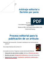 3 Arbitraje Editorial o Revision Por Pares
