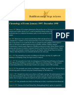 Chronology of Events January 1997 (Buddhism under Siege in Korea)