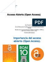 7 Acceso Abierto (Open Access)
