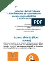 11 Los Repositorios Digitales y La Red Federada de Repositorios de Publicacion Cientifica
