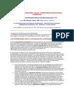 Los docentes - Funciones, roles, competencias necesarias para la formación