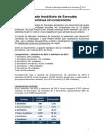 Estudo Do Mercado Imobiliario de Sorocaba 2013
