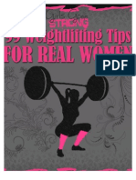 99 Weightlifting Tips for REAL WOMEN