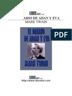 106056312 Twain Mark Adan Eva