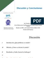18 Discusion y Conclusiones en publicaciones cientificas