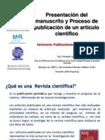21 Presentacion Del Manuscrito y Proceso de Publicacion de Un Articulo Cientifico