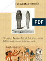 What is an Egyptian Mummy