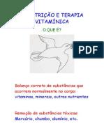 1- NUTRIÇÃO E TERAPIA VITAMÍNICA