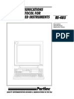 Partlow RS485 Comms Manual[1]
