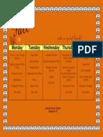 nslp menu group 5 portfolio