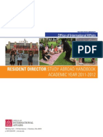 Resident Director Handbook
