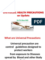 Universal Safety (Health) Precautions
