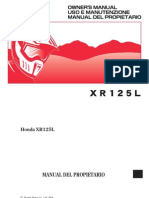 Manual de Usuario Honda Xr 125 l