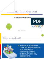 Introduction to Android ppt