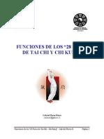"""Ventajas médicas de los """"28 Pasos de Tai Chi y Chi Kung"""""""