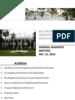 Raj Bhavan Neighbourhood Association, Pondichery