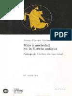 Jean-Pierre Vernant - Mito y Sociedad en La Grecia Antigua