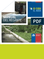 Manual del Regante, Edición 2013
