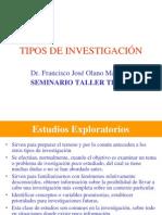 08.- Tipos de Investigacion