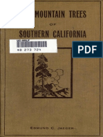 Edmund Carroll Jaeger - The Mountain Trees of Southern California