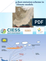 Dust emission modeling