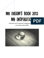 My Dreams Book 2012