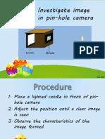 7.4, 7.5 Experiment Optical Instrutment