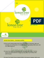 New Microsoft PowerPoint Presentation on lemon tree hotels