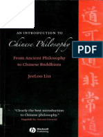 Liu - 2006 - An Introduction to Chinese Philosophy From Ancient Philosophy to Chinese Buddhism