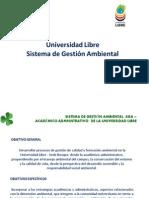 Universidad Libre Manejo de Residuos