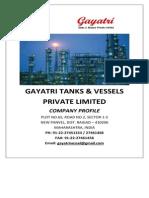 Gayatri Tanks - Company Profile 1