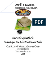 2014 Cub Scout & Webelos Resident Camp Leaders Guide
