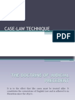 Case Law Technique