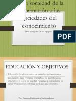 ideas principales de todos-español