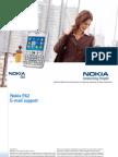 Nokia E62 E-mail support en 1