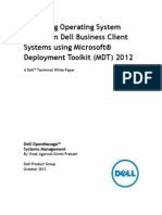 MDT OS Deployment-2012