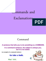 Commands and Exclamations(2)